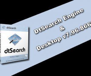 DtSearch Engine & Desktop v7.96.8668