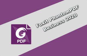 Foxit PhantomPDF Business 2020