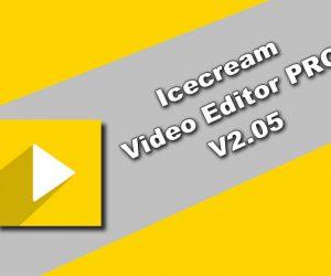 Icecream Video Editor PRO v2.05