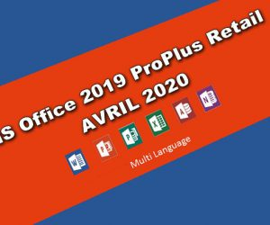 MS Office 2019 ProPlus Retail AVRIL 2020