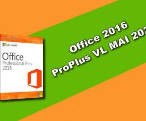 Office 2016 ProPlus VL MAI 2020 Torrent
