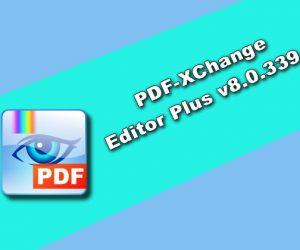 PDF-XChange Editor Plus v8.0.339.0