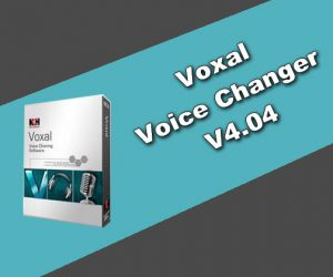 Voxal Voice Changer 4.04