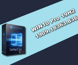 WIN10 Pro 19H2 1909.18363.836