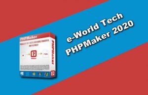e-World Tech PHPMaker 2020