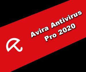 Avira Antivirus Pro 2020 Clé de licence
