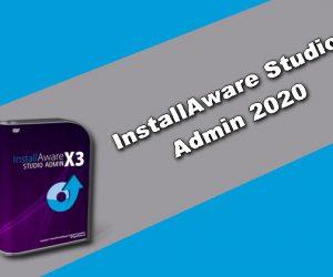 InstallAware Studio Admin 2020 Torrent