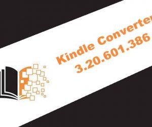 Kindle Converter 3.20.601.386
