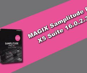 MAGIX Samplitude Pro X5 Suite 16.0.2.31