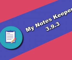 My Notes Keeper 3.9.3