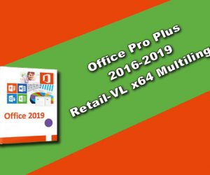 Office Pro Plus 2016-2019 Retail-VL-x64-Multilingue
