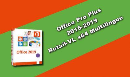 Office Pro Plus 2016-2019 Retail-VL-x64-Multilingue
