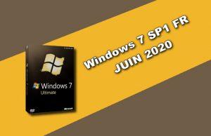Windows 7 SP1 FR JUIN 2020