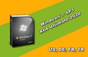 Windows 7 SP1 X64 Ultimate 2020 Torrent