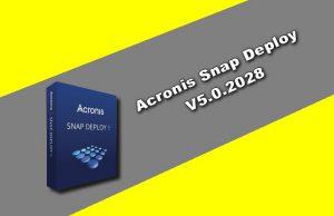 Acronis Snap Deploy v5.0.2028 Torrent