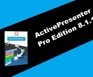 ActivePresenter Pro Edition 8.1.1 Torrent