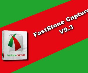 FastStone Capture 9.3
