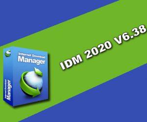 IDM 2020 v6.38 Torrent