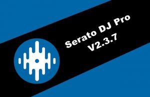 Serato DJ Pro v2.3.7