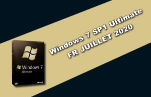 Windows 7 SP1 Ultimate FR JUILLET 2020