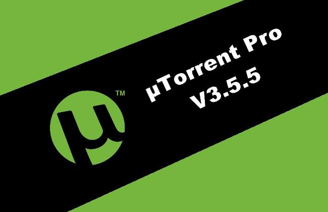 µTorrent Pro v3.5.5 Torrent
