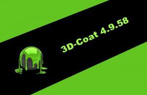 3D-Coat 4.9.58 Torrent