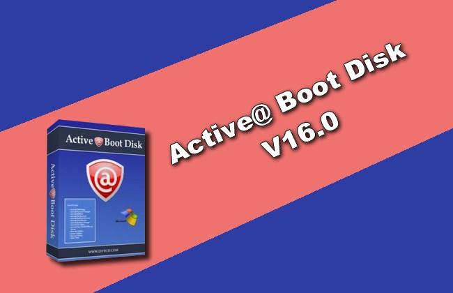 Active@ Boot Disk v16.0