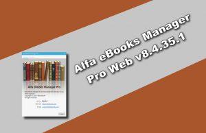 Alfa eBooks Manager Torrent