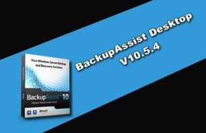 BackupAssist Desktop v10.5.4