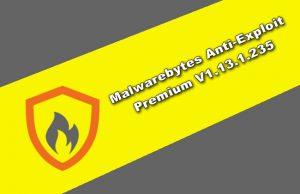 Malwarebytes Anti-Exploit Premium v1.13.1.235