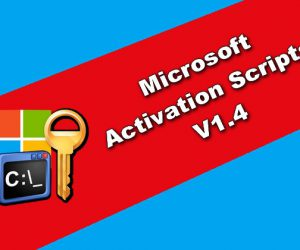 Microsoft Activation Scripts 1.4 Torrent
