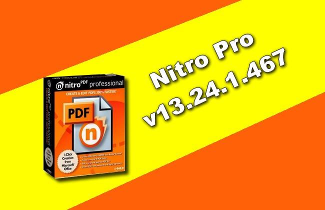 Nitro Pro v13.24.1.467