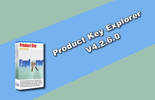 Nsasoft Product Key Explorer v4.2.6.0