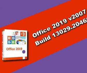 Office 2019 v2007 Build 13029.20460