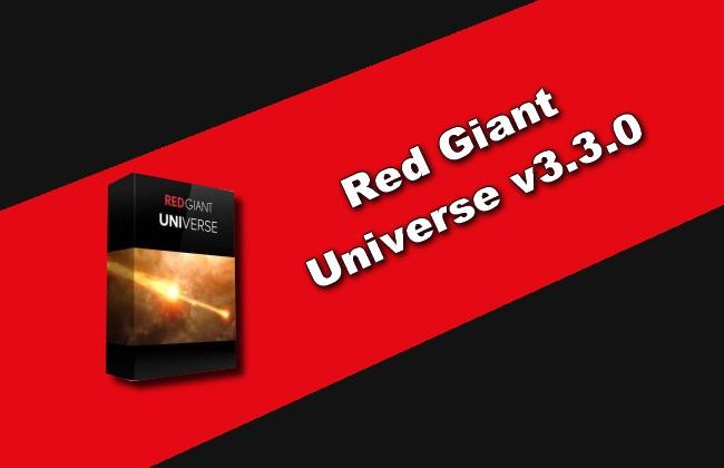 Red Giant Universe v3.3.0 Torrent