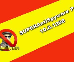 SUPERAntiSpyware Pro 10.0.1208 Torrent