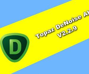 Topaz DeNoise AI v2.2.9