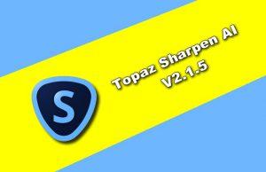 Topaz Sharpen AI v2.1.5