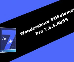 Wondershare PDFelement Pro 7.6.5.4955