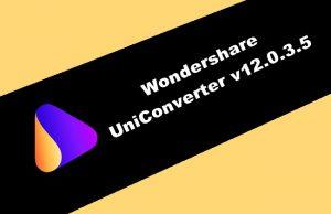 Wondershare UniConverter v12.0.3.5