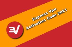 express vpn activation code 2021