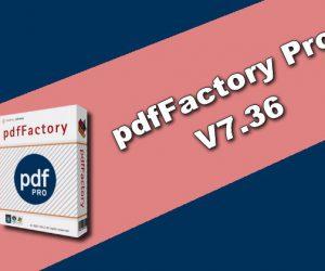 pdfFactory Pro 7.36 Torrent