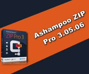 Ashampoo ZIP Pro 3.05.06 Torrent
