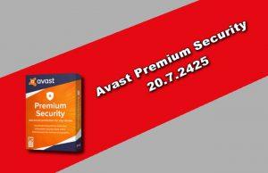 Avast Premium Security 20.7.2425