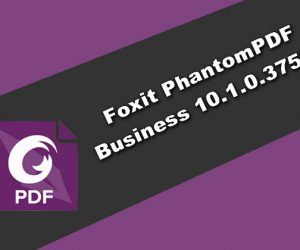 Foxit PhantomPDF Business 10.1.0.37527
