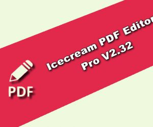 Icecream PDF Editor Pro 2.32