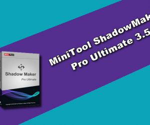MiniTool ShadowMaker Pro Ultimate 3.5