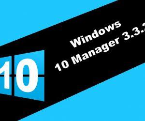 Windows 10 Manager 3.3.2 Torrent