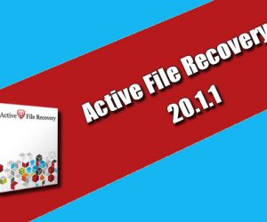 Active File Recovery 20.1.1 Torrent