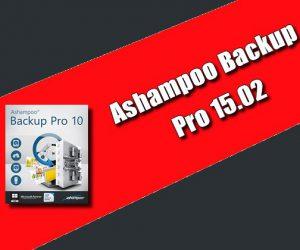 Ashampoo Backup Pro 15.02